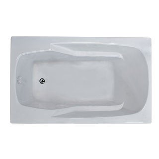 Mountain Home Everest 32x60-inch Acrylic Soaking Drop-in Bathtub