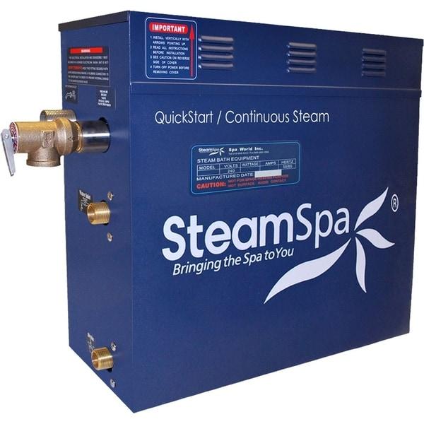 SteamSpa 10.5 KW Steam Bath Generator