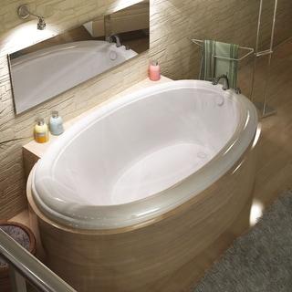Mountain Home Tyree 44x78-inch Acrylic Soaking Drop-in Bathtub