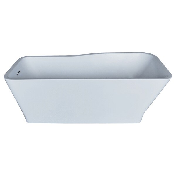 Mountain Home Berne 32x69-inch Acrylic Soaking Freestanding Bathtub