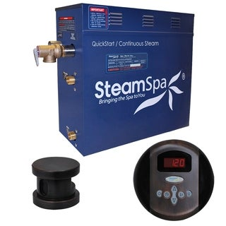 SteamSpa Oasis 7.5kw Steam Generator Package in Oil Rubbed Bronze