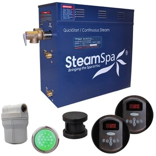 SteamSpa Royal 9kw Steam Generator Package in Oil Rubbed Bronze