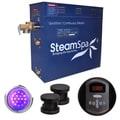 SteamSpa Indulgence 10.5kw Steam Generator Package in Oil Rubbed Bronze