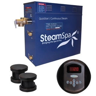 SteamSpa Oasis 12kw Steam Generator Package in Oil Rubbed Bronze