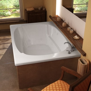 Mountain Home Summit 48x78-inch Acrylic Whirlpool Jetted Drop-in Bathtub