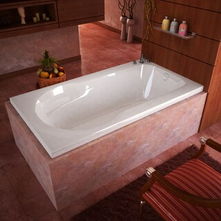 Mountain Home Zeus 32x60-inch Acrylic Air JettedDrop-in Bathtub