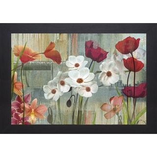 Maria Donovan 'Field of Flowers' Framed Print