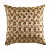 Puzzle Decorative Feather Filled Throw Pillow