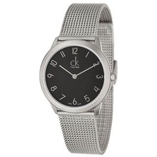 Calvin Klein Women's 'Minimal' Stainless Steel Swiss Quartz Watch