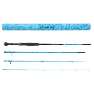 Wright & McGill S-Curve Flats Blue Jigging Rod