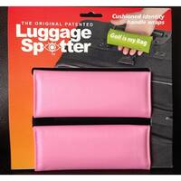Bright Pink Original Patented Luggage Spotter (Set of 2)