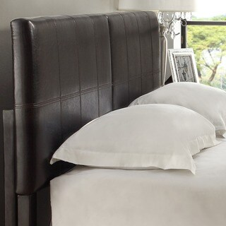 Square King or Cal King Synthetic Leather Upholstery Headboard (2 options available)