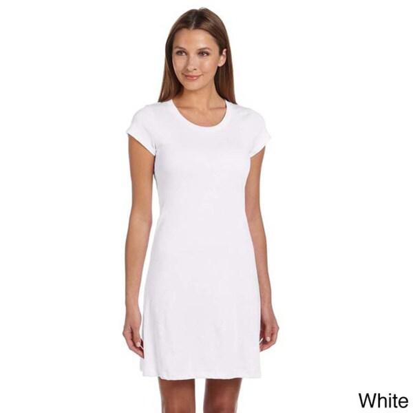 Bella Women's Vintage Jersey T-shirt Dress