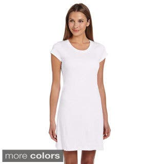 Bella Women's Vintage Jersey T-shirt Dress (Option: White)|https://ak1.ostkcdn.com/images/products/8947588/P16159809.jpg?impolicy=medium
