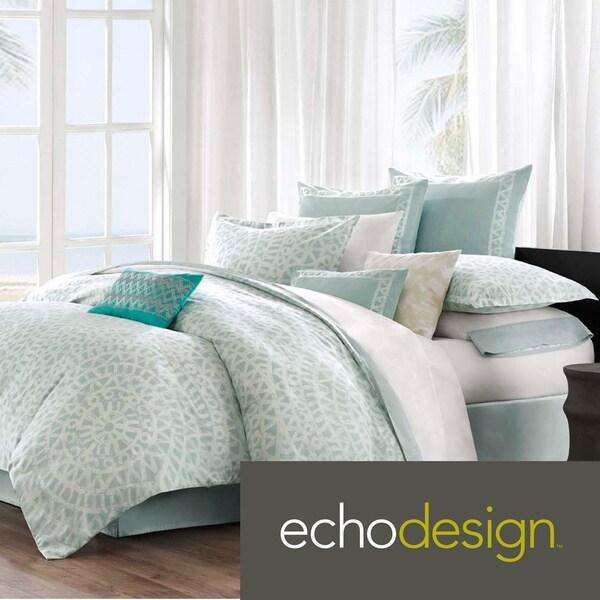 Echo Design Mykonos 300 Thread Count Cotton 3-piece Comforter Set