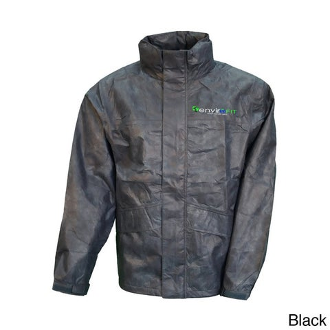 Envirofit Men's Solid Rain Jacket