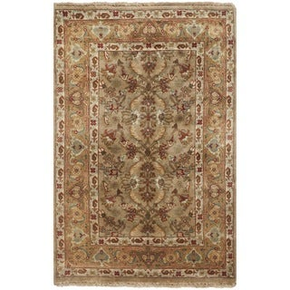 Safavieh Hand-knotted Farahan Sarouk Ivory/ Gold Wool Rug (2' x 3')