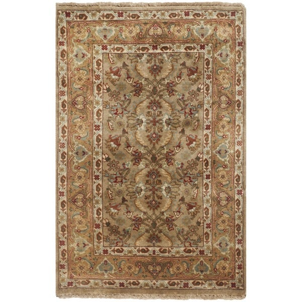 Safavieh Hand-knotted Farahan Sarouk Ivory/ Gold Wool Rug - 2' x 3'