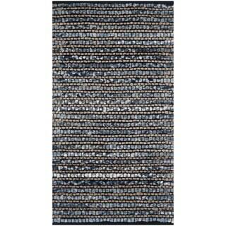 Safavieh Cape Cod Handmade Blue Jute Natural Fiber Rug (2' x 3')