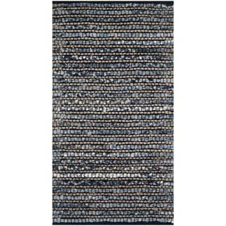 Safavieh Cape Cod Handmade Blue Jute Natural Fiber Rug (2'3 x 4')