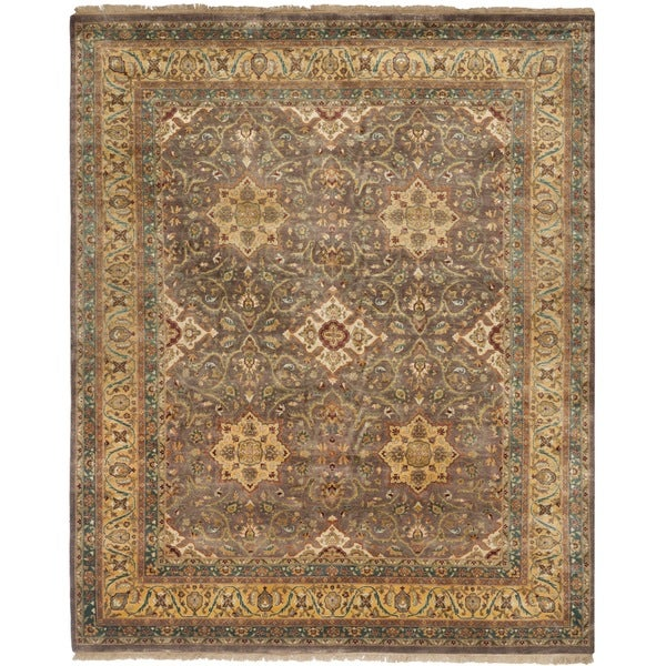 Safavieh Hand-knotted Ganges River Multi Wool Rug - Brown/Tan - 8' x 10'