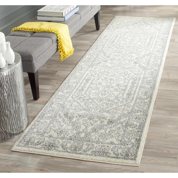 Shop Safavieh Adirondack Ivory Silver Rug 2 6 X 8 On Sale