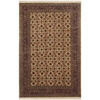 Safavieh Hand-knotted Herati Gold/ Rust Wool Rug - 3' x 5'