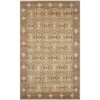 Safavieh Hand-knotted Nepalese Beige Wool/ Silk Rug - 3' x 5'