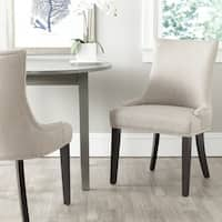 Safavieh En Vogue Dining Lester Antique Gold Viscose Blend Dining Chairs (Set of 2)