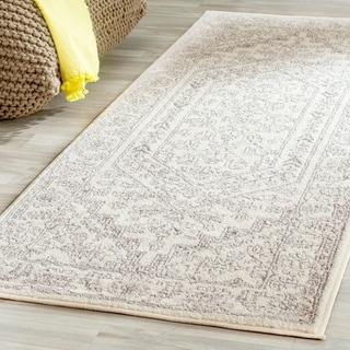 Safavieh Adirondack Ivory/ Silver Rug (2'6 x 10')