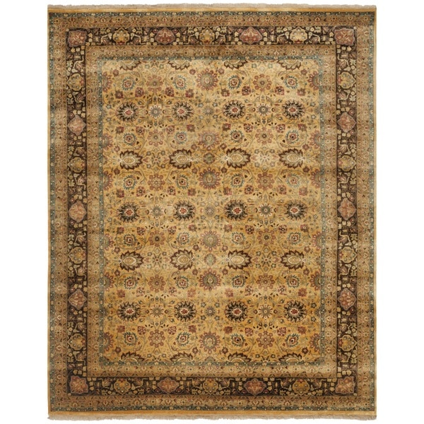Safavieh Hand-knotted Ganges River Multi Wool Rug - Brown/Tan - 9' x 12'