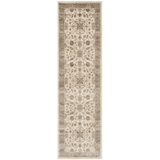 Safavieh Vintage Oriental Stone/ Mouse Brown Distressed Silky Viscose Rug (2'2 x 10')