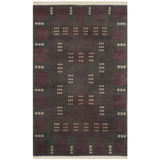 Safavieh Hand-knotted Nepalese Multi Wool Rug (9' x 12')