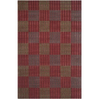 Safavieh Hand-knotted Nepalese Multicolored Wool/ Silk Rug (9' x 12')