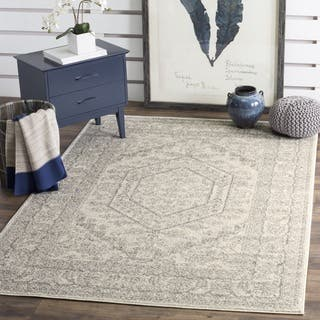 Safavieh Adirondack Vintage Ivory / Silver Large Area Rug (10' x 14')|https://ak1.ostkcdn.com/images/products/8948267/P16160342.jpg?impolicy=medium
