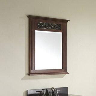 Avanity Napa 24-inch Mirror in Dark Cherry Finish