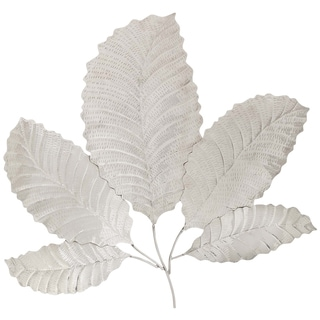 Casa Cortes 'Leaf' Metal Wall Art