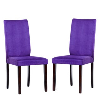 Purple Shino Dining Chairs
