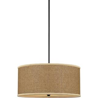 Rattan ceiling lights for less overstock quoizel zen tan rattan shade 4 light pendant mozeypictures Images