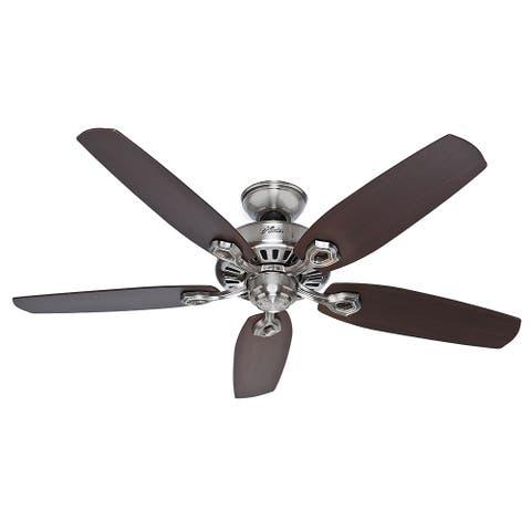 52-inch Builder Elite Energy Star Fan - Silver