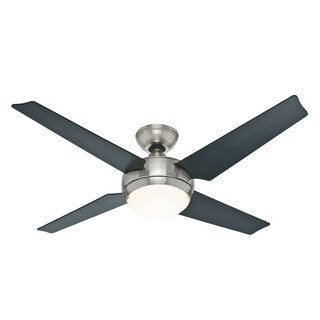 Hunter Fan Sonic 52-inch 4-blade Brushed Nickel Ceiling Fan