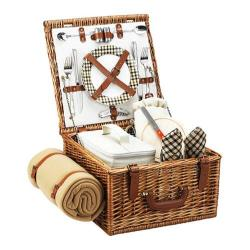 Picnic at Ascot Cheshire Basket for Two with Blanket Wicker/London