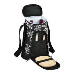 Picnic at Ascot Two Bottle Carrier and Cheese Set Night Bloom