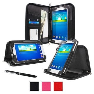 "roocase Executive Carrying Case (Portfolio) for 7"" Tablet, ID Card, B"