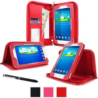 """roocase Executive Carrying Case (Portfolio) for 7"""" Tablet, ID Card, B"""