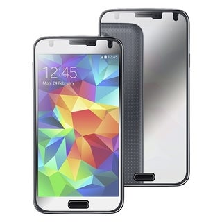 INSTEN Mirror LCD Screen Protector Film Guard for Samsung Galaxy S5/ SV