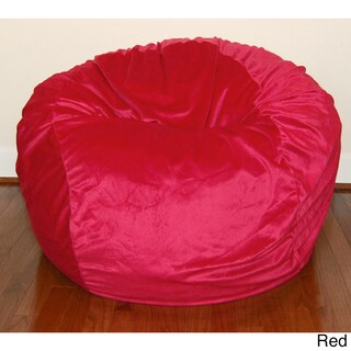 Cuddle Soft Minky 36-inch Washable Bean Bag Chair (More options available)