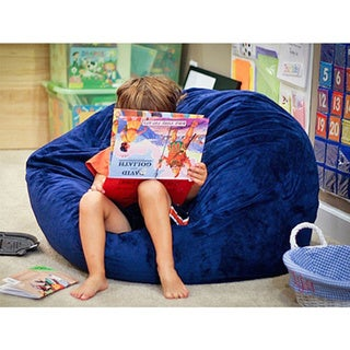 Cuddle Soft Minky 36-inch Washable Bean Bag Chair. Opens flyout.