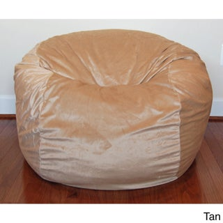 Cuddle Soft Minky 36-inch Washable Bean Bag Chair