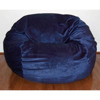 Cuddle Soft Minky 36-inch Washable Bean Bag Chair